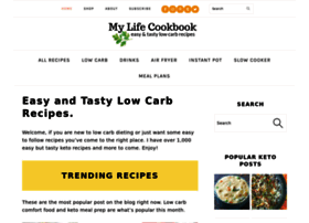 mylifecookbook.com