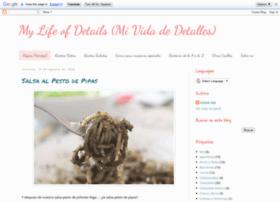 mylifeofdetails.blogspot.com