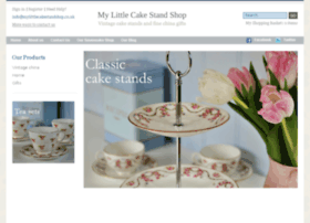 mylittlecakestandshop.co.uk