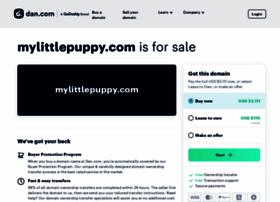 mylittlepuppy.com