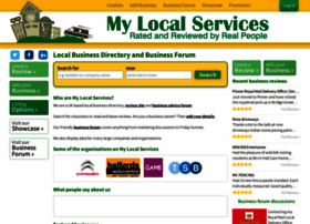 mylocalservices.co.uk