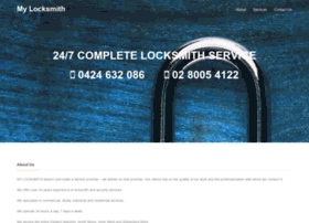 mylocksmith.net.au