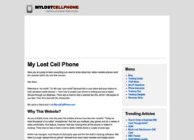 mylostcellphone.com