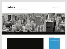 mylucir.wordpress.com