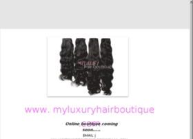 myluxuryhairboutique.com