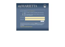 mymarietta.marietta.edu