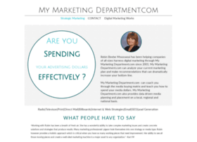 mymarketingdepartment.com