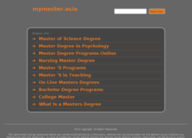 mymaster.asia