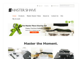 mymastershave.com