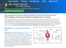 mymathgenius.com
