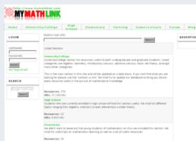 mymathlink.com