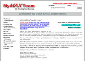 mymaxteam.com