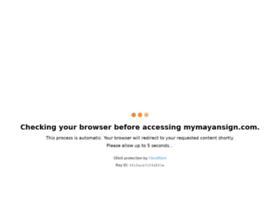 mymayansign.com