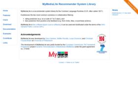 mymedialite.net