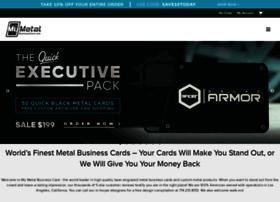 mymetalbusinesscard.com