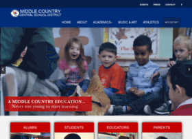 mymiddlecountryschools.net