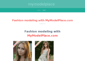 mymodelplace.wordpress.com