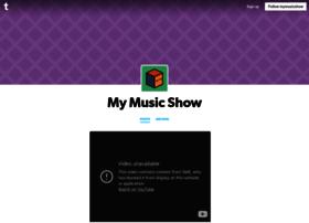 mymusicshow.tumblr.com