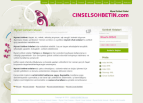 mynet.cinselsohbetin.com