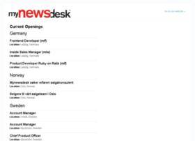mynewsdesk.theresumator.com