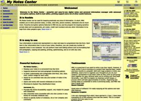 mynotescenter.com