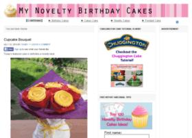 mynoveltybirthdaycakes.com