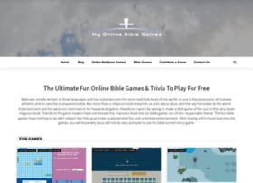 myonlinebiblegames.com