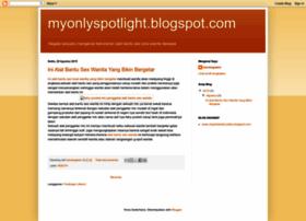 myonlyspotlight.blogspot.com