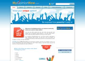 myopinionnow.com