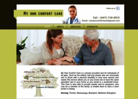 myowncomfortcare.com