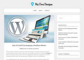myowndesigns.info