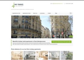 myparisapartments.com
