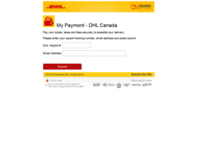 mypayment.dhl.ca