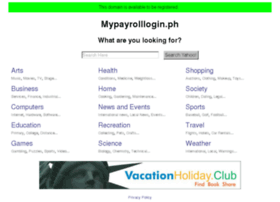 mypayrolllogin.ph