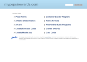 mypepsirewards.com
