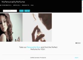 mypersonalityperfume.com