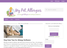 mypetallergies.com