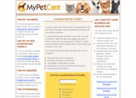 mypetcare.com