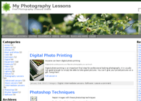 myphotographylessons.com