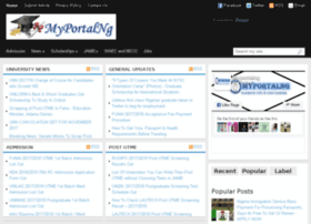 myportalng.net