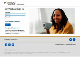 myportico.porticobenefits.org