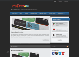 myprint.my