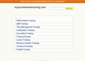 myprivateteamtraining.com