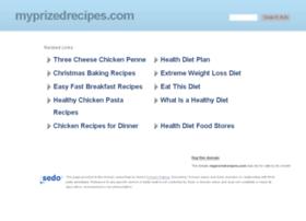 myprizedrecipes.com