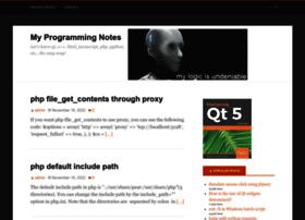 myprogrammingnotes.com