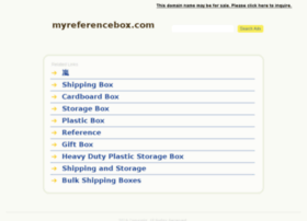 myreferencebox.com