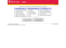 myrehs.rutgers.edu