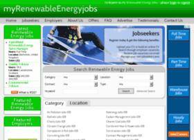 myrenewableenergyjobs.com