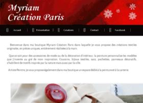 myriamcreationparis.com