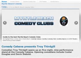myrtlebeachcomedyclubs.com